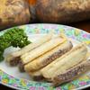 全開口笑 - 料理写真:繊維を断ち切らないようにカット『金沢 小坂レンコンの唐揚げ』 加賀レンコンのなかでも特に美味しいレンコンです。