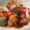 華や - 料理写真:ふもと赤鶏の黒豆ソース炒め