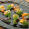 まえ田 - 料理写真:タイのうにのせ