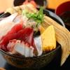 まえ田 - 料理写真:炙り穴子一本のせ海鮮丼