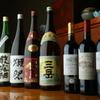 まえ田 - 料理写真:日本酒・焼酎各種取り揃えております