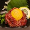 わしの肉 - 料理写真:炙り和牛ユッケ 880円