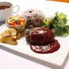 おふろcafe utatane - 料理写真:うたたねハンバーグ