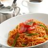 フラミンゴ - 料理写真:オリジナルの自家製ソースを使った『ナポリタンセット』