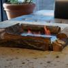 イル・バンカーレ - 外観写真:テラス席の暖炉