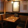 江南 - 内観写真:落ち着いた雰囲気のテーブル席