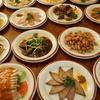 中国茶房8 - 料理写真:前菜280円〜。ピータン、自家製腸詰め、じゃがいもの千切りさっぱり和えなど、サービス価格で提供しています。