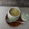 食彩工房 そばの華 - 料理写真:豆乳茶碗しそばの実庵掛け