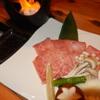 味空間 こうりん坊 - 料理写真:東伯牛三角バラ陶板焼き