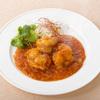 虎包 - 料理写真:海老の四川風チリソース炒め  。海老本来の旨みが楽しめます。花巻とご一緒にどうぞ。