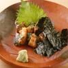飯家くーた - 料理写真:当店のNO.1!生の真鯖を特製ゴマ醤油で和えています☆