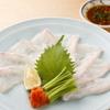 飯家くーた - 料理写真:高級魚・あら(くえ)の薄造り。かなりの美味!