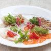 ぷらっトリア - 料理写真:新鮮魚三種のカルパッチョ