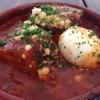 カフェアンドバーアール - 料理写真:Rといえばカスエラ料理!!海老のアヒージョ、マッシュルームのアヒージョなど定番物に加え、様々なカスエラ料理がたのしめます^^写真は豚バラ肉の香草トマト煮。