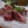 ホルモンえびす - 料理写真:鶴橋ホルモンエビス名物厚切りココロ