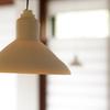 おおむろ軽食堂 - 内観写真:ペンダントライトも手作り陶器