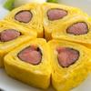 五郎八 - 料理写真:ピリリと辛い明太子とほんのり甘い卵が絶妙です『明太子卵焼き』 九州名産明太子を一本まるまる使い、フワッと卵で巻きあげました。お店の定番、人気メニューです