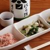 露地もん - 料理写真:ワイン、日本酒などとの相性満点『日替り・おばんざい三種盛り』
