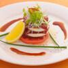 旬料理兆 - 料理写真:マグロの漬けとモッツァレラチーズのカルパッチョ