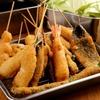 新世界 おやじの 串や - 料理写真:串カツ盛り合わせ