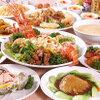 龍門 - 料理写真:7000円のコース例です