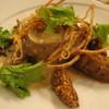 トワ・プティ・ルー - 料理写真:鶏とトランペット茸のバロティン