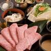 しゃぶ亭 - 料理写真:特選黒毛和牛コース 2940円
