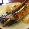 観音食堂 七兵衛 - 料理写真:超巨大さばの干物。シェアして食べてください。