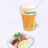 蔵くら - 料理写真:◆お疲れ様セット B ヒューガルデンホワイト&おつまみ