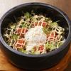 なかめのてっぺん - 料理写真:石焼高菜明太めし