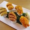 うに虎喰 - 料理写真:5種類のうにが食べ比べできる握り鮨