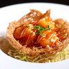 ゆうづき - 料理写真:エビチリ  手作りピリ辛ソースとプリプリ海老をジャガイモの器のサクサク感と併せてお楽しみ下さい!