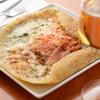 浅草カフェ ラグランドカリス - 料理写真:シードルをより美味しく飲める『生ハムと卵のそば粉のガレット』.