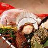 鉄板焼 いちか - 料理写真:入荷の新鮮な魚介。