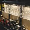 ガッロネロ - 内観写真:10種類のワイングラスが有ります。