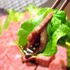 彩香園 - 料理写真:カルビ  \714        チシャ  \504