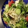 三拍子 - 料理写真:温かキノコのサラダ