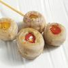 とりっぱ - 料理写真:2色のミニトマトをイベリコ豚のバラ肉で包みました。イベリコの濃厚さとトマトの酸味が調和した一品。