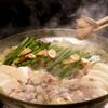 酔灯屋 - 料理写真:「博多もつ鍋」プリップリの国産牛の小腸と有機栽培の甘ーいキャベツがスープの旨味を引き立てる!