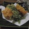蕎仙 - 料理写真:生さくらえびのてんぷら、せいろをつけて1600円で。