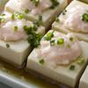 赤坂璃宮 - 料理写真:豆腐と海老すり身の合わせ蒸し