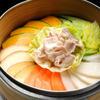 香港海鮮飲茶樓 - 料理写真:豚肉といろいろ野菜のせいろ蒸し