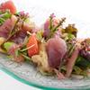 チャコール - 料理写真:鮮魚と焼きナスのカルパッチョ