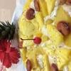 Cafe ichara - 料理写真:夏限定!パインたっぷり、いずみピザ