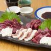 ひだりうま - 料理写真:◆特選馬刺盛り(5種盛り)