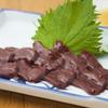 ひだりうま - 料理写真:◆馬レバー刺し◆