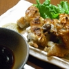喜九蔵 - 料理写真:外はカリカリ中はトロトロ焼き豚足 激旨ポン酢とゆず胡椒で