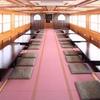 船清 - 内観写真:40~60名乗り 掘りごたつ式屋形船「紫式部」