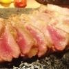 ポルトベッロ - 料理写真:豚肩ロースの溶岩グリル