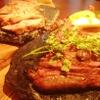ポルトベッロ - 料理写真:メインディッシュは溶岩グリル